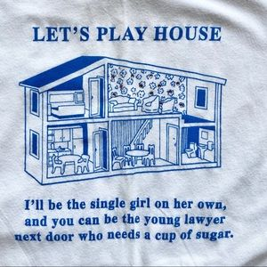 Abercrombie 'Let's play house' tee